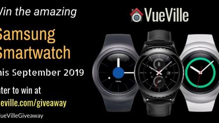 Win a Samsung Gear Smartwatch with VueVille – September 2019