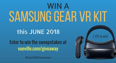 Win A Samsung Gear VR Wireless Controller Kit with VueVille – June 2018