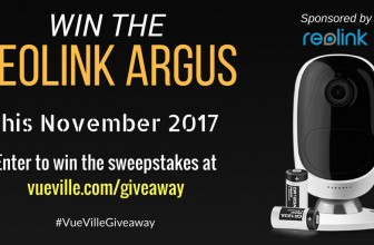 Win a Reolink Argus with VueVille – November 2017