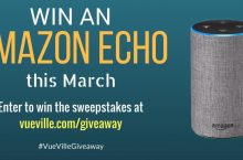 Win an Amazon Echo with VueVille